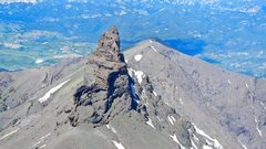 Rock Climbing Photo: Index Peak seen from the summit of Pilot.