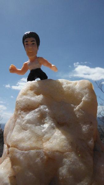 Rock Climbing Photo: Ready for love