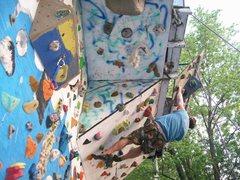 Rock Climbing Photo: cranking