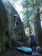 Rock Climbing Photo: in the ghetto