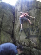 Rock Climbing Photo: in the ghetto bit blurry but gives a better over a...