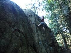 Rock Climbing Photo: in the ghetto v2/3
