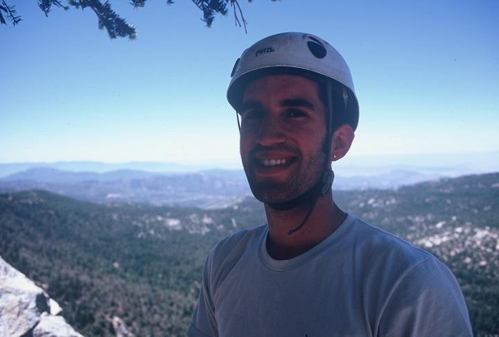 Rock Climbing Photo: On Fingertrip (I think?)