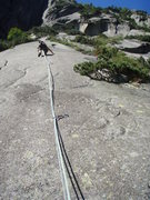 Rock Climbing Photo: Friction is the game - pitch four