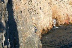 Rock Climbing Photo: Pilastri traverse
