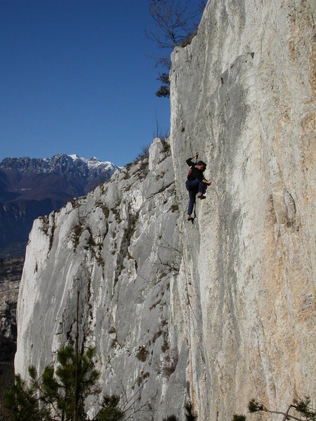 Rock Climbing Photo: Climbing at the Nago crag