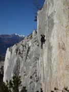Rock Climbing Photo: Climbing at the Nago crag