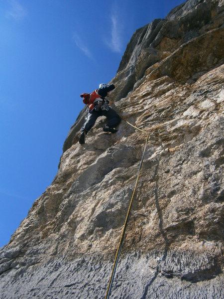 Rock Climbing Photo: Pitch 7