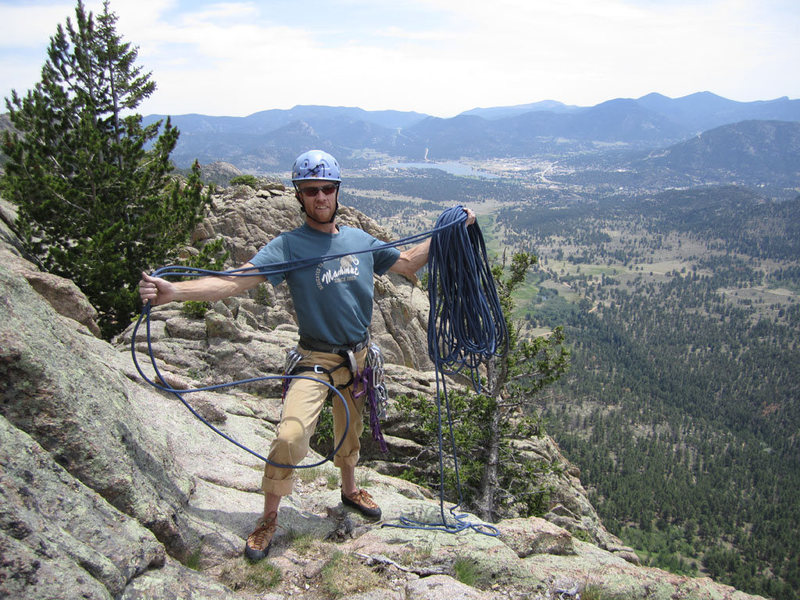 Rock Climbing Photo: Amazing views atop Sundance Buttress!