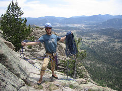 Rock Climbing Photo: Amazing views atop Sundance Buttress!