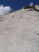 Rock Climbing Photo: The view from the start of Lizard Gizzards