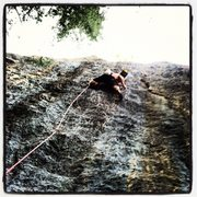 Rock Climbing Photo: Stefan on Code Blue
