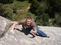 Rock Climbing Photo: The Top-out!