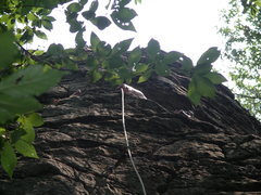 Rock Climbing Photo: Mr Bungle, August 4, 2007 - climbed straight into ...