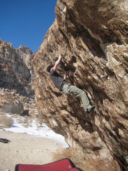 Rock Climbing Photo: Ju