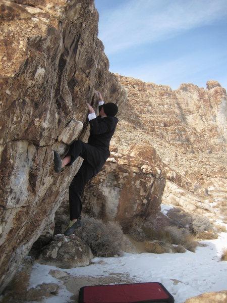 Thing 1 Boulder, V6 variation