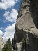 Rock Climbing Photo: Jake on Skyline