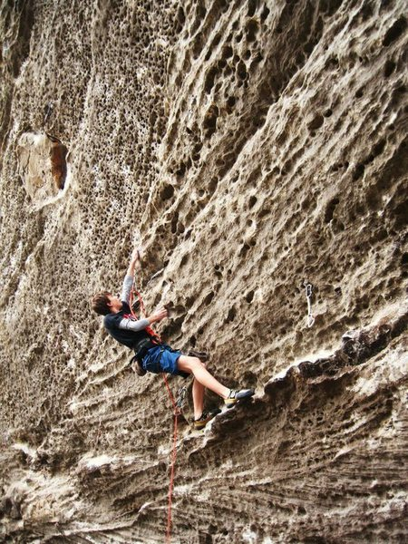 Rock Climbing Photo: The Force, 13a