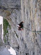 Rock Climbing Photo: Pitch five