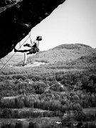 Rock Climbing Photo: hanging