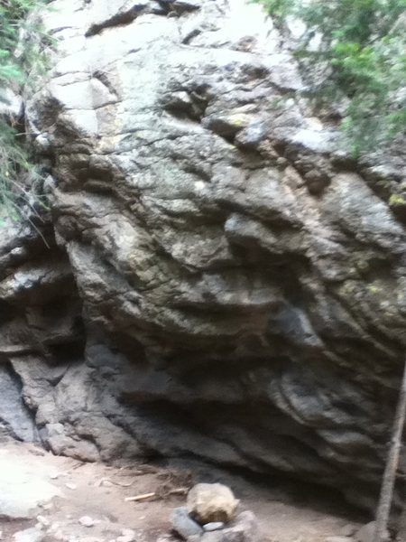 Rock Climbing Photo: Bad pic but it will confirm you are in the right s...