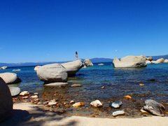 Rock Climbing Photo: Lake Tahoe