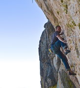 Rock Climbing Photo: Not as slaby as it looks from bellow...