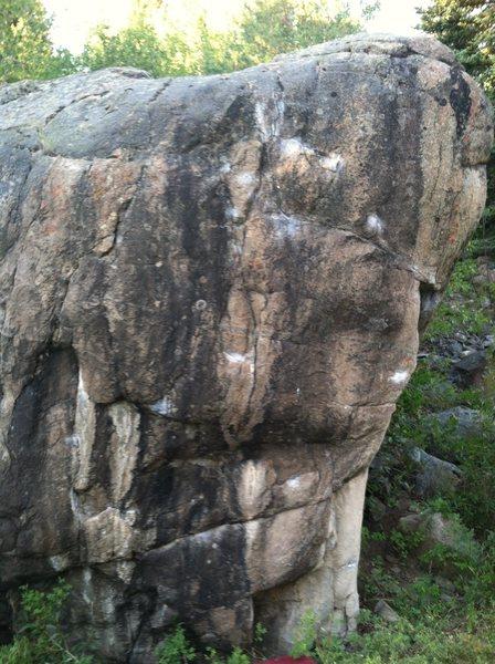 Rock Climbing Photo: Sunset Screamer