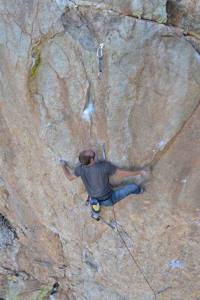Rock Climbing Photo: Power of Heel-A