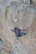 Rock Climbing Photo: Power of Heel-A