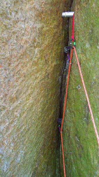 Rock Climbing Photo: zombie attack...no survivors