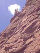 Rock Climbing Photo: I am back!
