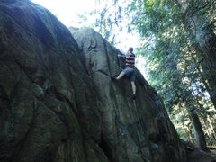 Rock Climbing Photo: in the ghetto