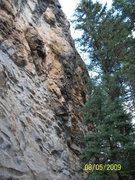 """Rock Climbing Photo: A view of """"Los Gastones""""."""