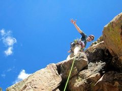Rock Climbing Photo: Eldo Canyon