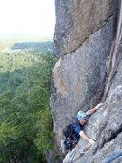Rock Climbing Photo: Crushin' it!