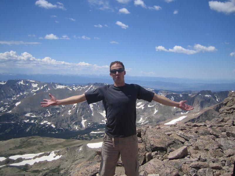 Rock Climbing Photo: Longs Peak Summit