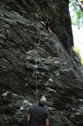 Rock Climbing Photo: No money down 5.10c
