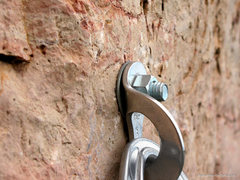 Rock Climbing Photo: Bolts 2-7 look like this.