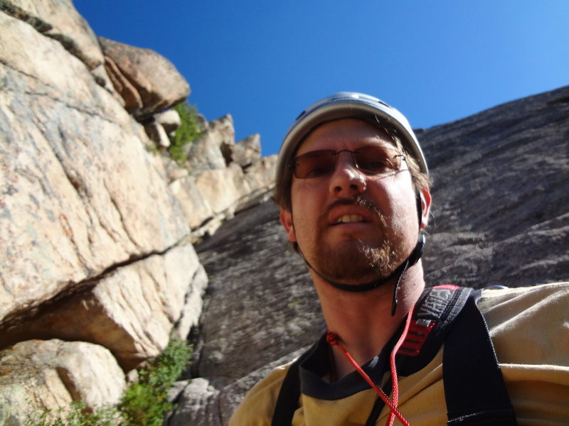 Independence Pass June 2012>Rope Solo Zanzibar Dihedral.