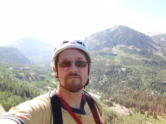 Rock Climbing Photo: Independence Pass.  Rope solo -  June 2012.