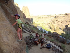 Rock Climbing Photo: Smith Rocks Oregon.  July 2012.