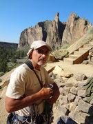 Rock Climbing Photo: Mike Colacino. Smith Rocks Oregon.  July 2012.