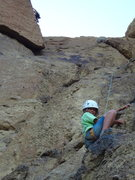 Rock Climbing Photo: Araceli. Smith Rocks Oregon.  July 2012.