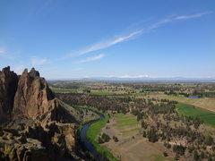 Rock Climbing Photo: Mike Colacino - Tale of Two Shitties. Smith Rocks ...