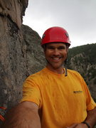 Rock Climbing Photo: Mike Wally - Boulder Canyon - June 2012.
