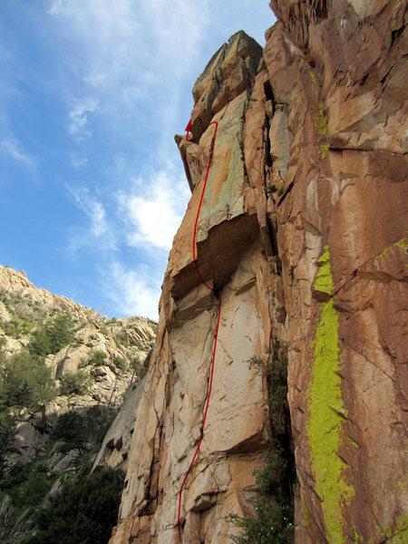 Rock Climbing Photo: Agent Orange Direct to Agent Orange.  First two pi...