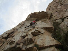 Rock Climbing Photo: Aleix on the direct start