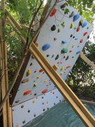 Rock Climbing Photo: side view of wall