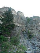 Rock Climbing Photo: Prime Rib on the Goat Wall